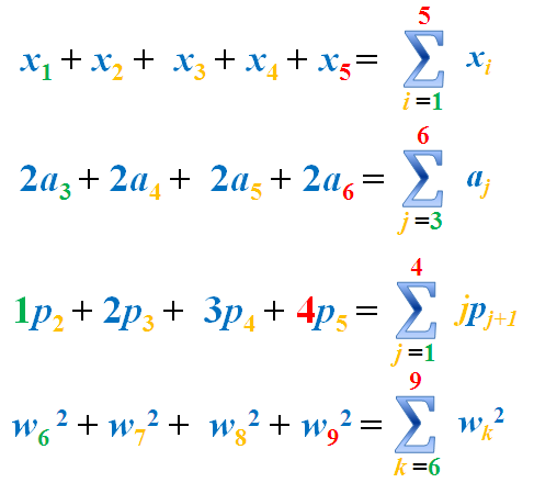 how to get symbol for sum